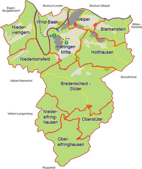Stadt Hattingen Stadtplanung