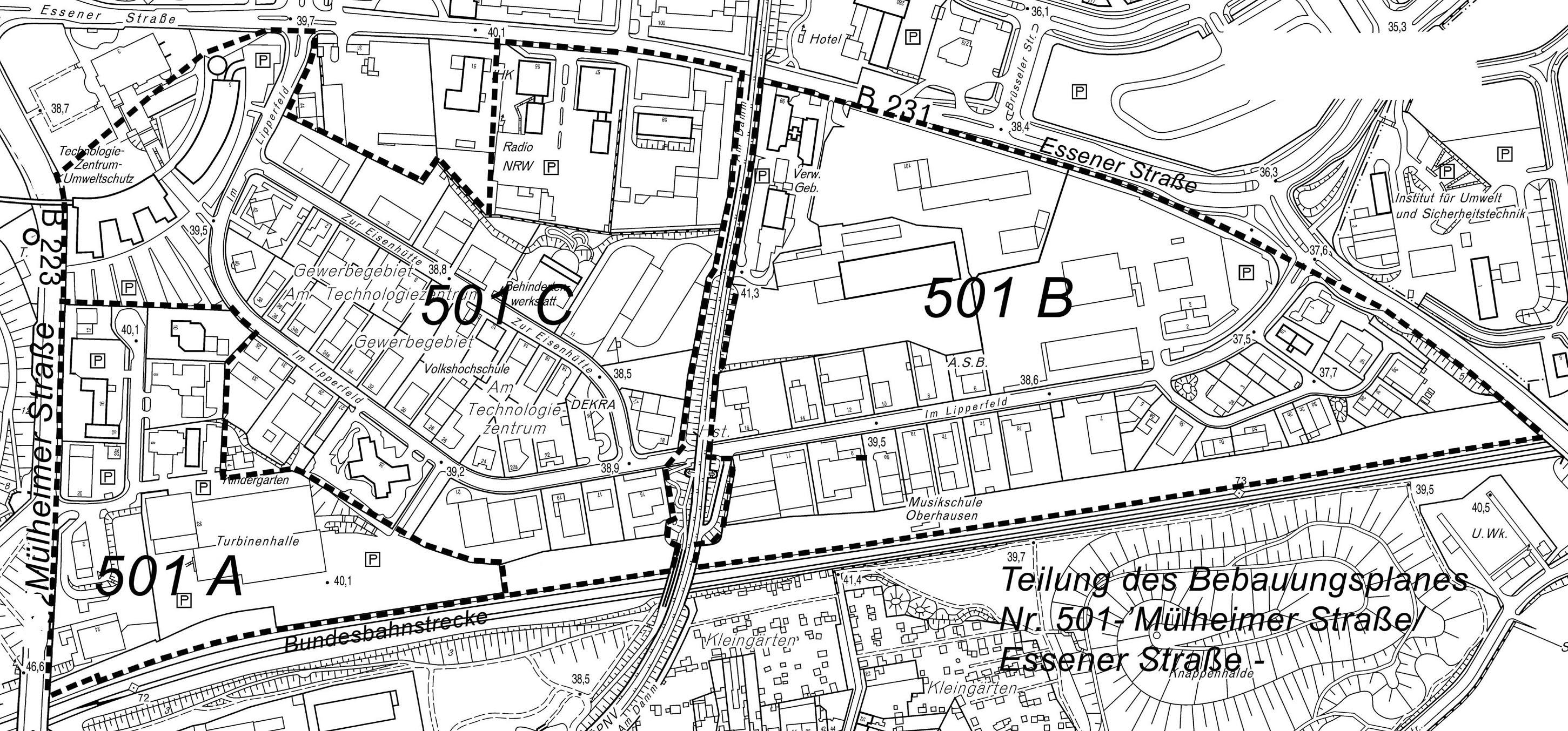Bauleitplanung online for 501 plan